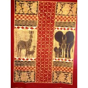 BATIK -Long table cloth- made with passion by producers from Zimbabwe